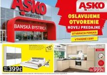 3197ffac51b74 ASKO - NÁBYTOK Oslavujeme otvorenie novej predajne