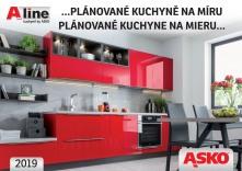 2fea1a674d3d ASKO - NÁBYTOK Katalóg Kuchyne na mieru A-line