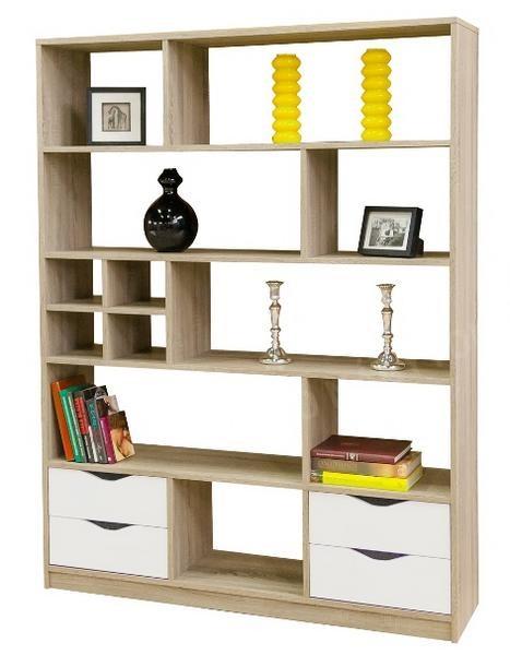 reg l knihovna sten 2 asko n bytok. Black Bedroom Furniture Sets. Home Design Ideas