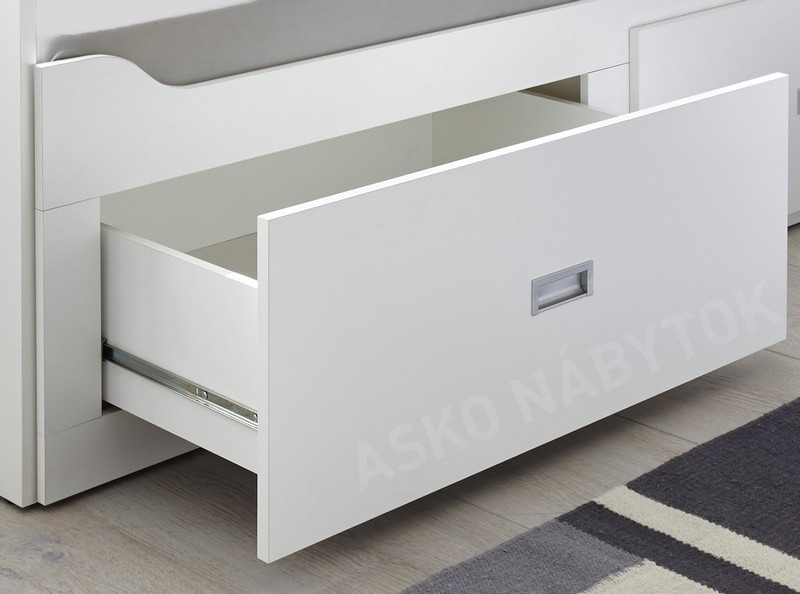 2d7074adbe08 ... Rozkladcia posteľ so zásuvkami Bergen 80x200 cm ...