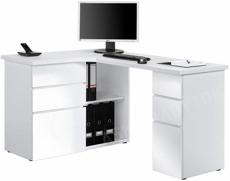 6a24dea3b83c Rohový písací stôl Model 9543