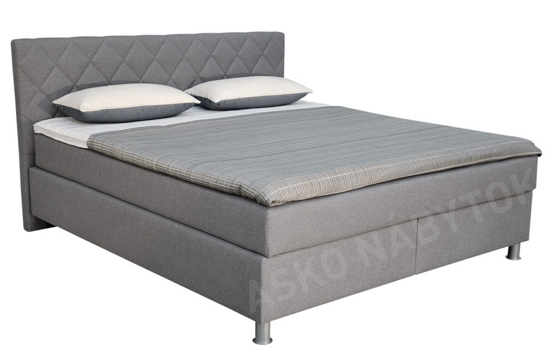poste boxspring epoque 180x200 asko n bytok. Black Bedroom Furniture Sets. Home Design Ideas
