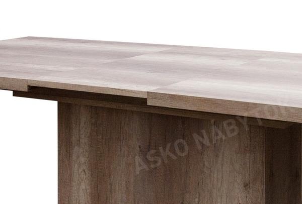 f358837aeb6e7 Jedálenský stôl Paulo 160x90 cm, dub canyon, rozkladací   ASKO - NÁBYTOK