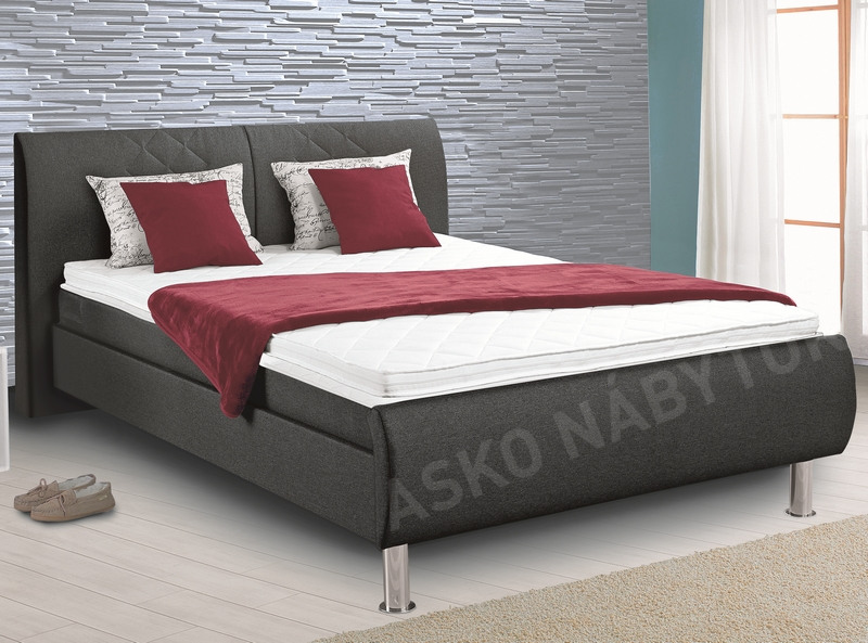 poste boxspring leo 140x200 asko n bytok. Black Bedroom Furniture Sets. Home Design Ideas