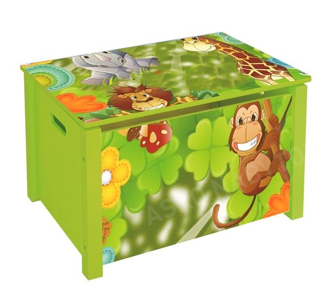 fd36dc46a Detský úložný box JUNGLE | ASKO - NÁBYTOK