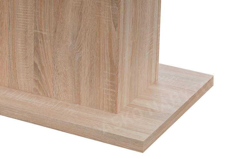 74dd59229595c Jedálenský stôl Paulo 160x90 cm, dub sonoma, rozkladací   ASKO - NÁBYTOK