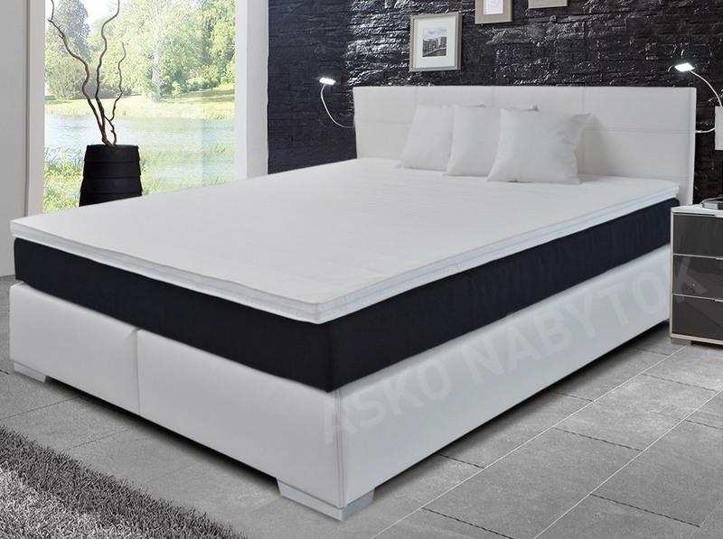 poste boxspring livorno 180x200 cm biela ekoko a asko n bytok. Black Bedroom Furniture Sets. Home Design Ideas