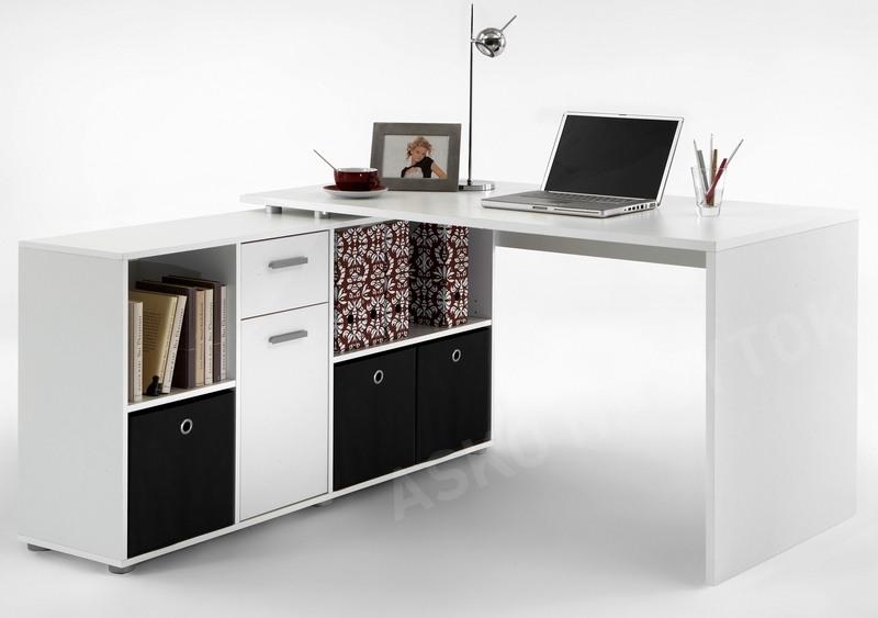 dc3440a10f19 Písací stôl s regálom Lex