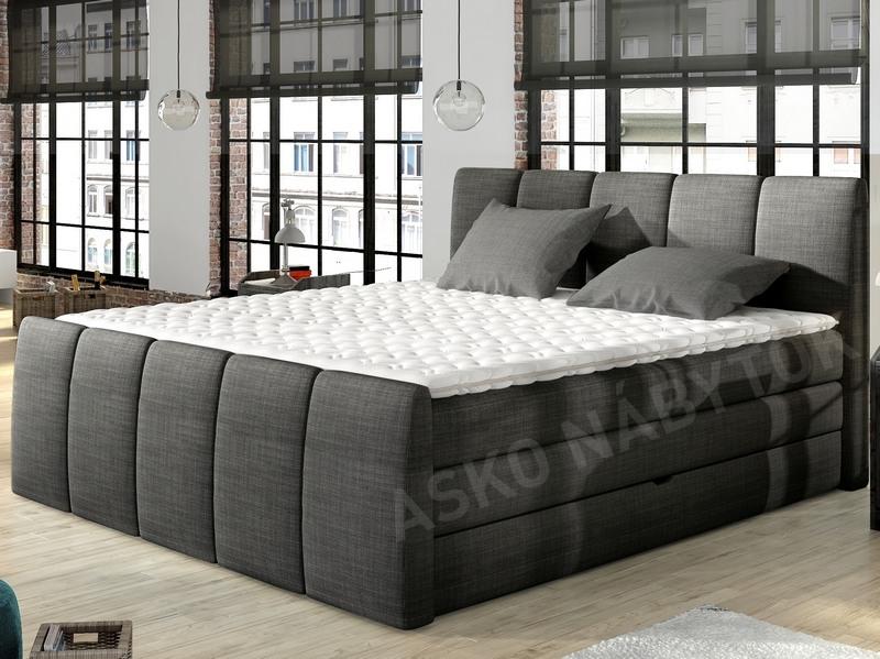 poste boxspring fresco 180x200 cm asko n bytok. Black Bedroom Furniture Sets. Home Design Ideas