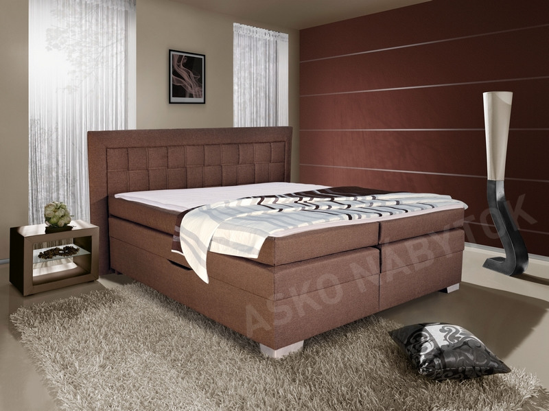 poste boxspring flash 180x200 asko n bytok. Black Bedroom Furniture Sets. Home Design Ideas