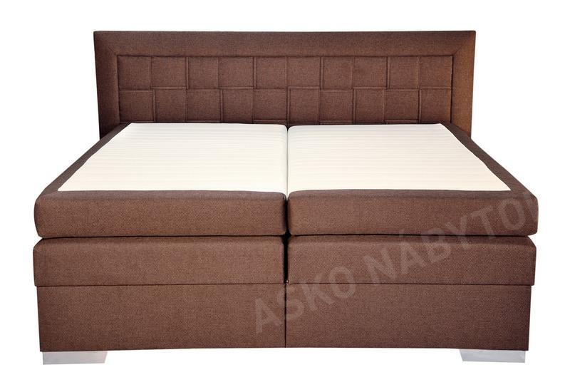 poste boxspring flash 180x200 asko n bytok. Black Bedroom Furniture Sets. Home Design Ideas