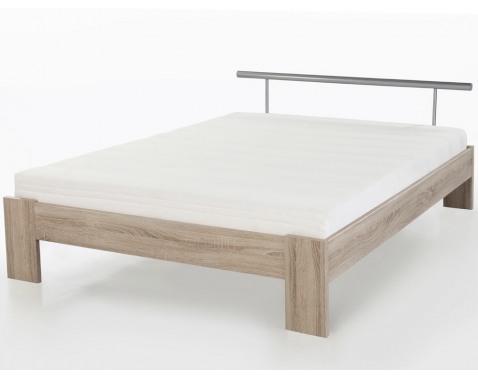 Posteľ Margo 140x200 cm, dub sonoma