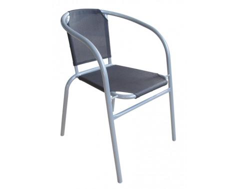 Záhradná stolička Granada, čierne%