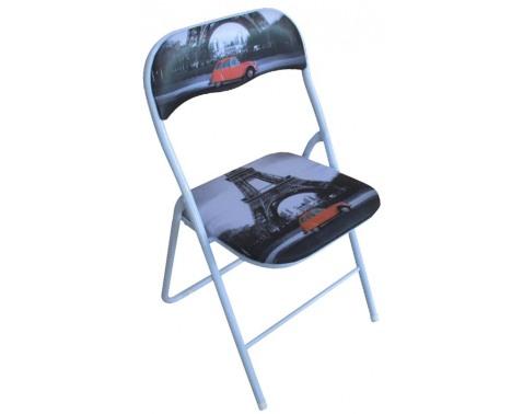 E-shop Skladacia stolička Jamos, motív Paríža