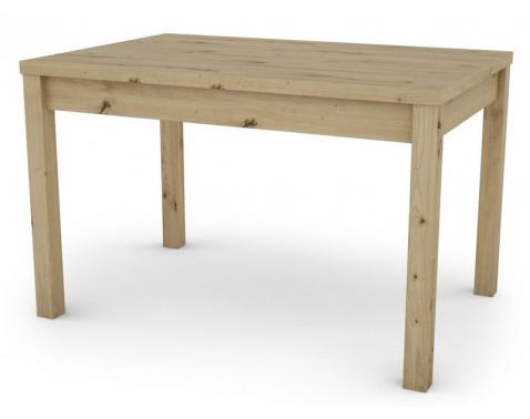 Jedálenský stôl Adam 120x80 cm, dub artisan, rozkladací%