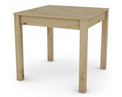 Jedálenský stôl David 80x80 cm, dub artisan%