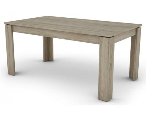 Jedálenský stôl Inter 160x80 cm, dub sonoma, rozkladací%