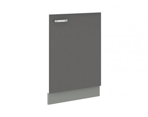 Predný panel na vstavanú kuchynskú umývačku Grey NAR G-72, šírka 60 cm%