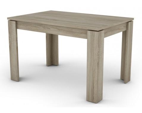 Jedálenský stôl Inter 120x80 cm, dub sonoma%