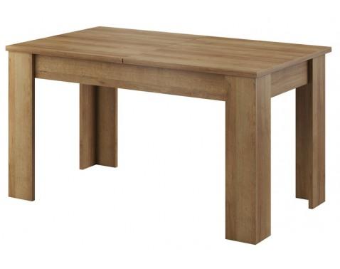 Jedálenský stôl Sky 140x80 cm, dub riviera, rozkladací%