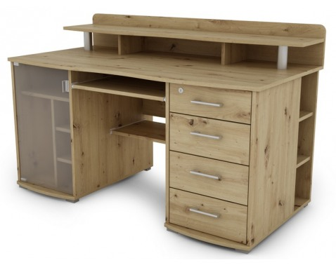 PC stôl Picasso, dub artisan