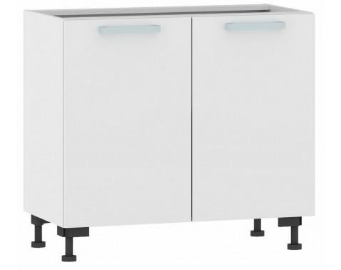 Dolná kuchynská skrina One ES90, biely lesk, šírka 90 cm%