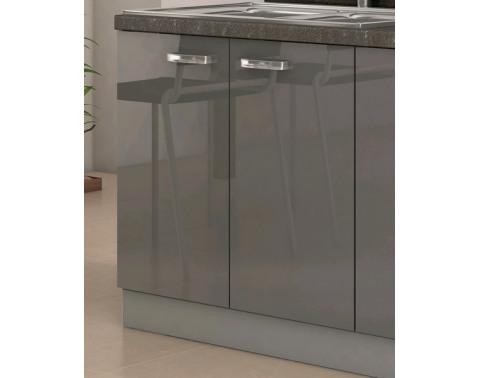 Kuchynská drezová skrinka Grey 80ZL, 80 cm