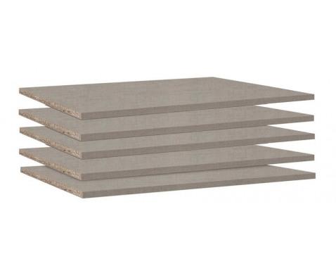 Set políc do skrine 88 cm (5 ks) Typ A0033.9675%