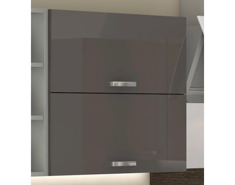 Horná kuchynská skrinka Grey 60GU, 60 cm