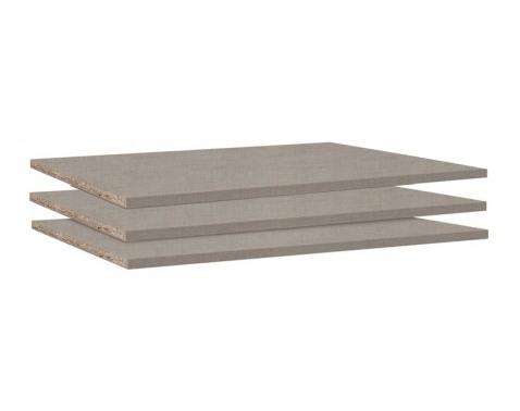 Set políc do skrine 88 cm (3 ks) Typ A0033.9674%