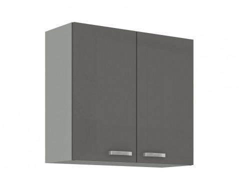 Horná kuchynská skrinka Grey 80G-72, 80 cm%
