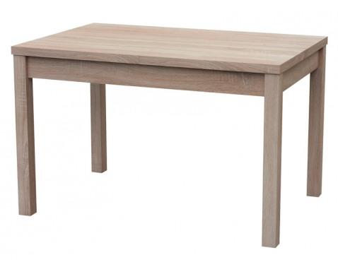 Jedálenský stôl Adam 120x80 cm, dub sonoma, rozkládací%