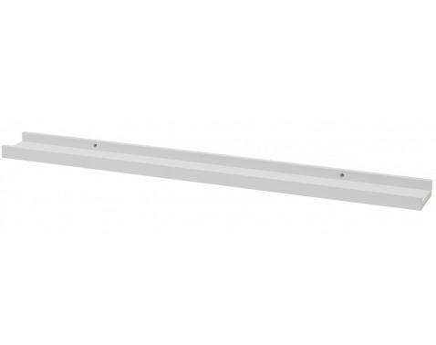 Závesná polička Duraline 80 cm, bílá%