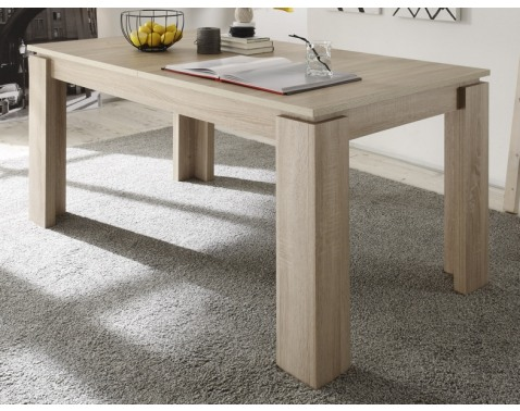 Jedálenský stôl Universal 160x90 cm, dub sonoma