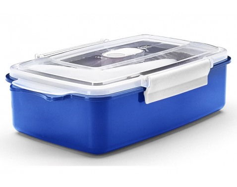 Dóza na potraviny Micro 1,25 l, modrá