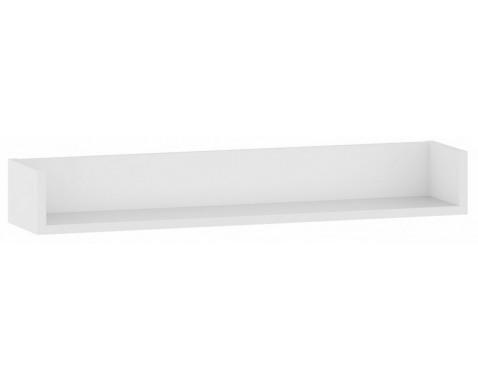 Nástenná polica One MP90, biela, šírka 90 cm%