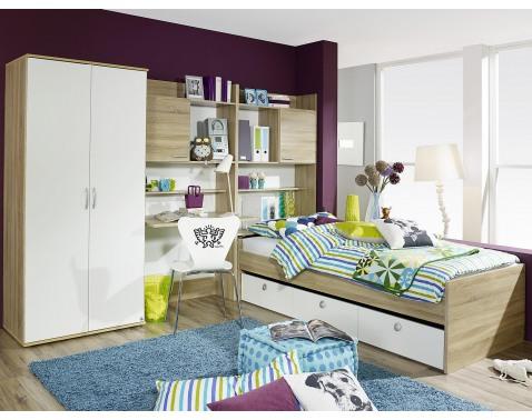 Zostava nábytku do detskej izby Emilio, dub sonoma / biela%