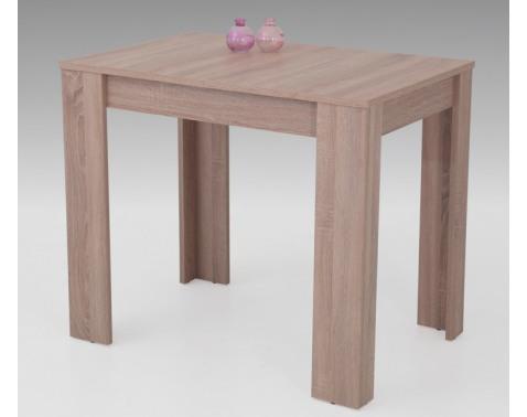 Jedálenský stôl Eva, 90x60 cm, dub sonoma, rozkladací%