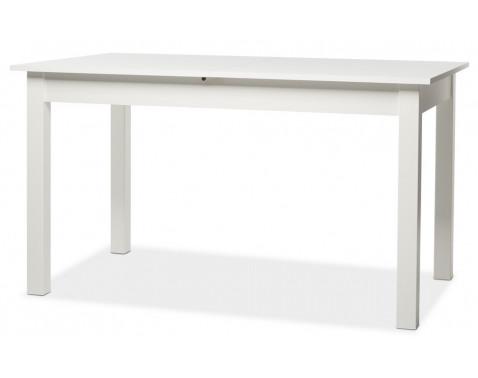 Rozkladací jedálenský stôl Coburg 137x80 cm, biely%
