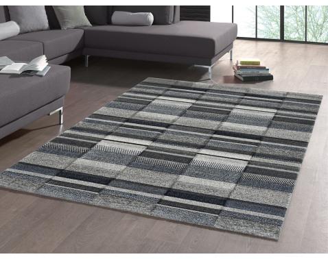 E-shop Koberec Indigo 120x170 cm, šedo-modrý