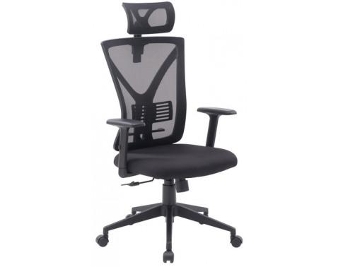 Kancelárska stolička Image, čierna látka