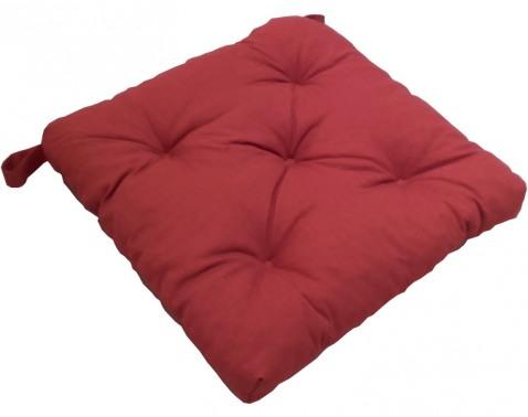 Podsedák na stoličky Gesa 40x40 cm, terracota%