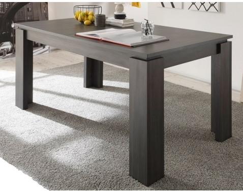 Jedálenský stôl Universal 160x90 cm, šedý jaseň