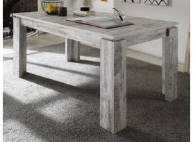 Jedálenský stôl Universal 160x90 cm, bielená borovica canyon