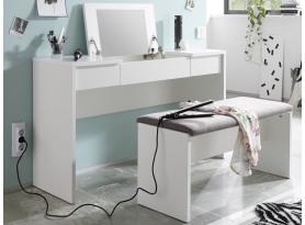 Toaletný stolík s lavicou Lipstick