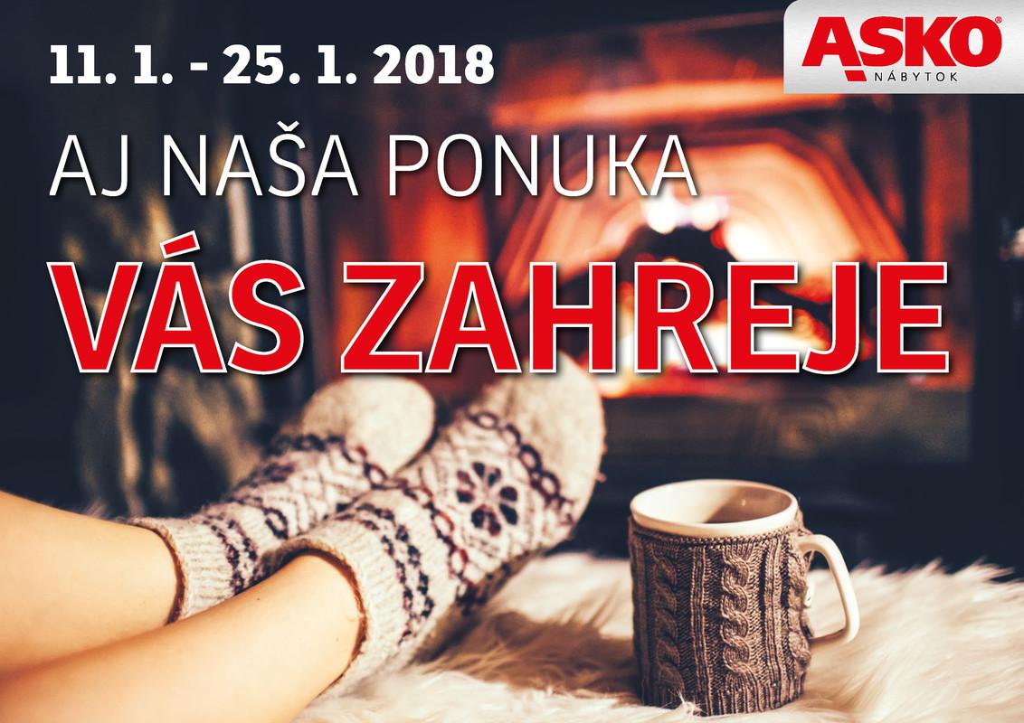 ASKO - NÁBYTOK Leták PONUKA, KTORÁ ZAHREJE