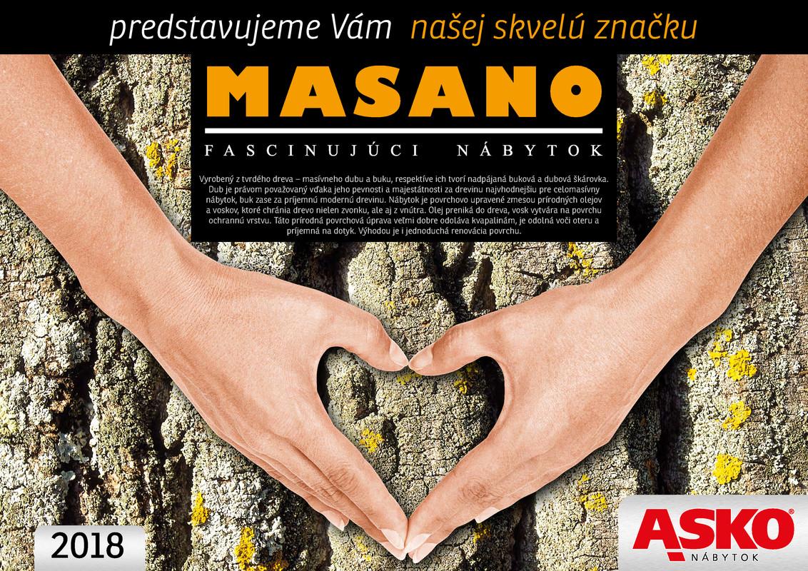 ASKO - NÁBYTOK Katalóg produktov Masano