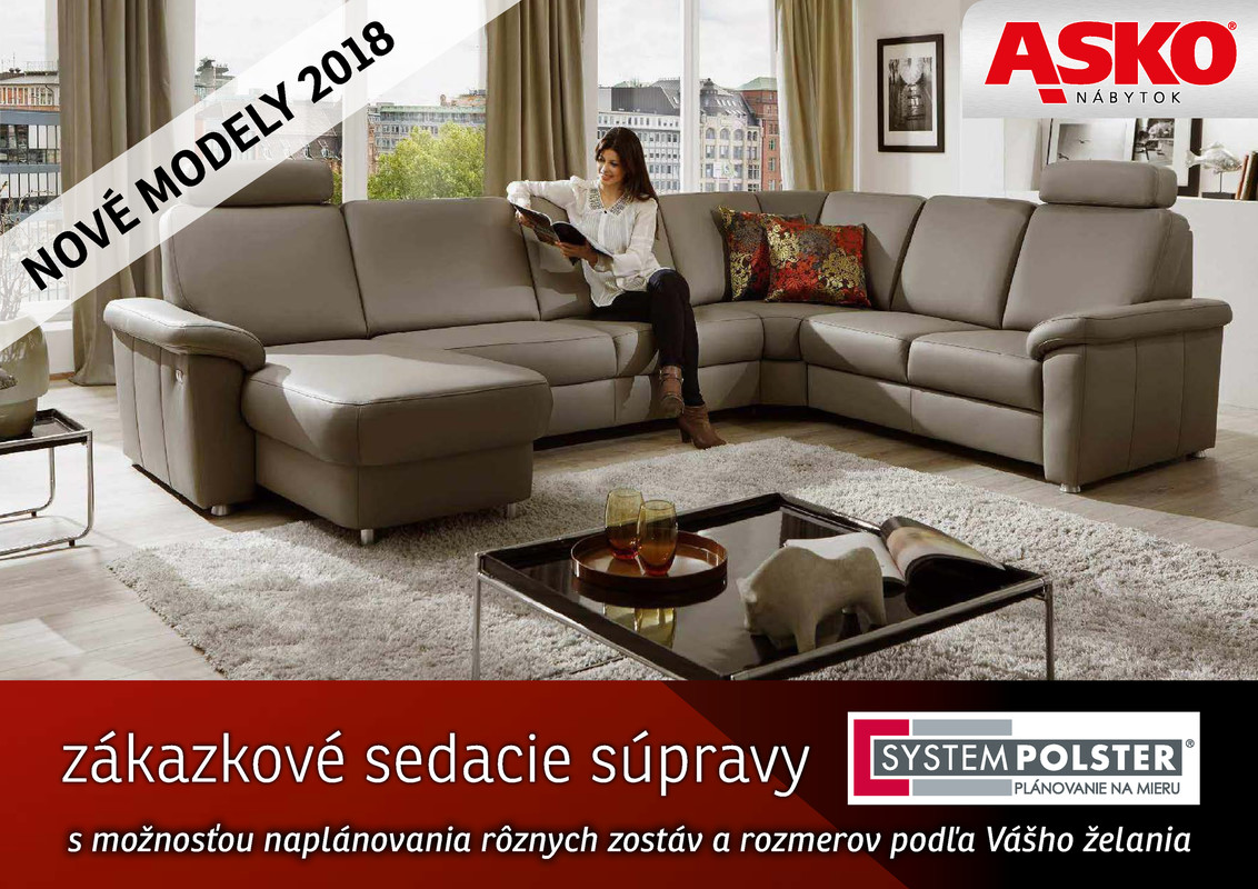 Katalog Asko Nábytok System Polster