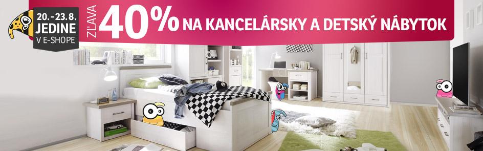08b8debba4c4 ... ZĽAVA 40% na detský a kancelársky nábytok