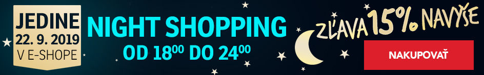 Night Shopping 15% 22-09-2019